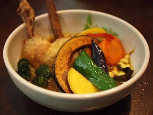 路地裏カリィ侍.(Rojiura Curry SAMURAI.)神楽坂店
